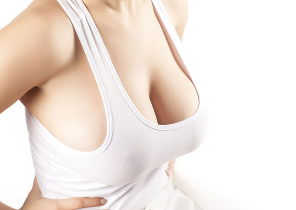 breast lift implant surgery